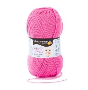 Bravo Baby 185 rózsaszín babafonal