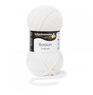 Boston fehér téli fonal