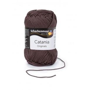 Catania csokibarna 415 nyári pamut fonal