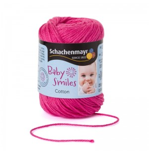 Baby Smiles Cotton rózsaszín pamut fonal