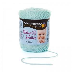 Baby Smiles Cotton menta pamut fonal