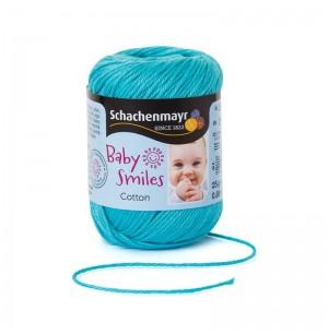Baby Smiles Cotton türkiz babafonal