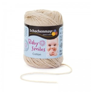Baby Smiles Cotton bézs babafonal