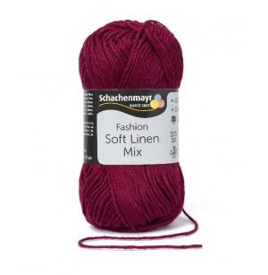 Soft Linen Mix burgundi 033