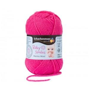 Baby Smiles Merino Wool rózsaszín 1036