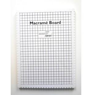 Makramé tábla 29x39 cm