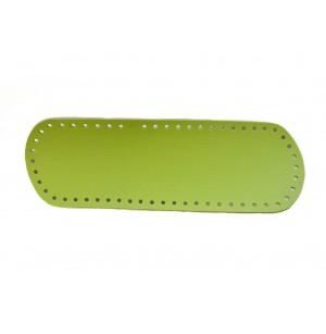 Élénk zöld táska alap 10x30 cm