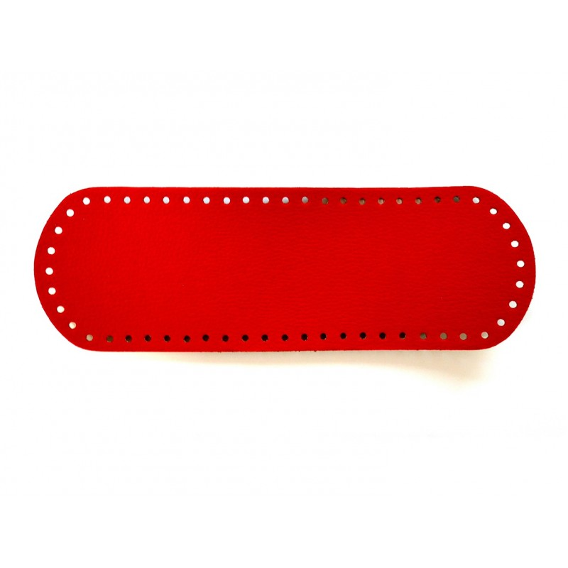 Piros táska alap 10x30 cm