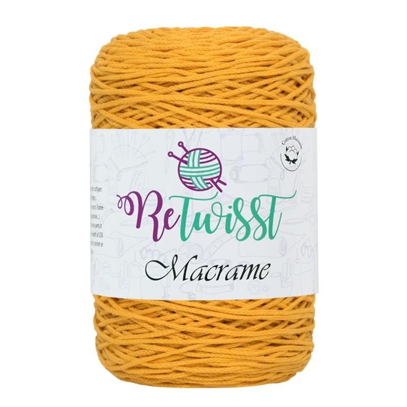 Macrame sárga