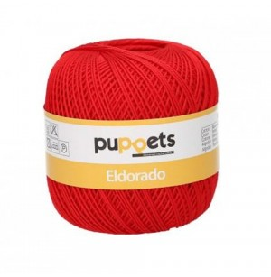 Eldorado horgolócérna piros (10-es) 7046