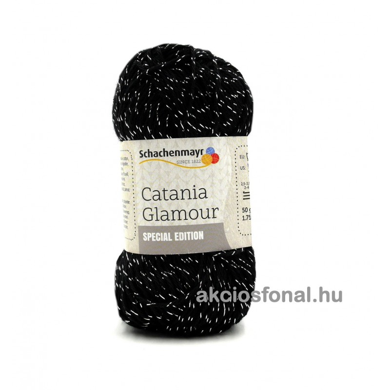 Catania Glamour fekete