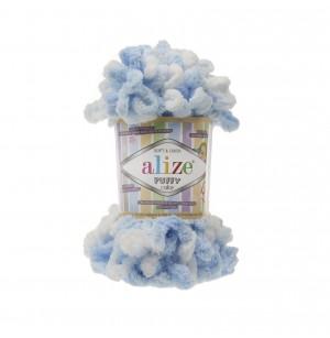 Puffy Color fehér-kék
