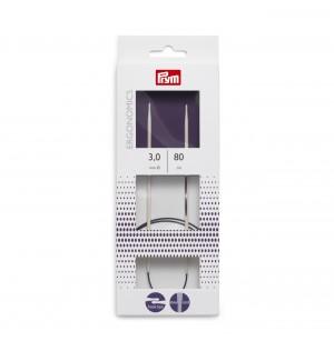Prym ergonomikus körkötőtű 3 mm (80cm)