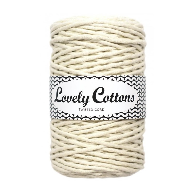 Lovely Cottons Twisted Cord krém