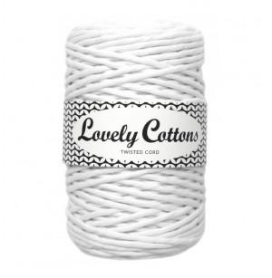 Twisted Cord fehér (3 mm/100m)