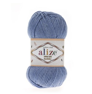 Cotton Gold Hobby 374 kék
