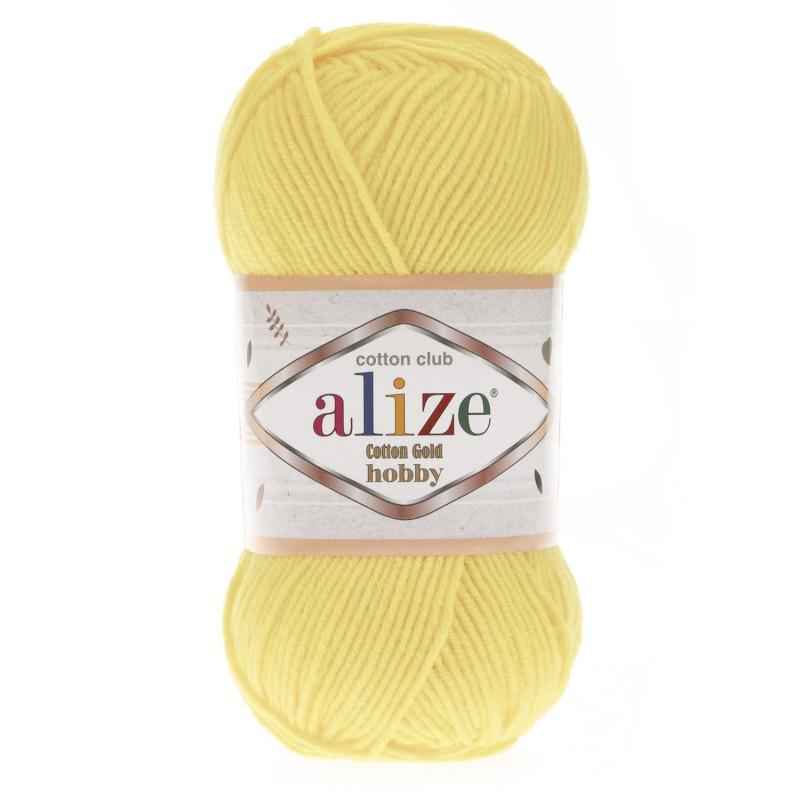 Cotton Gold Hobby 187 világossárga
