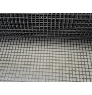 Műanyag háló (10mm-es) táska és szőnyeg készítéséhez