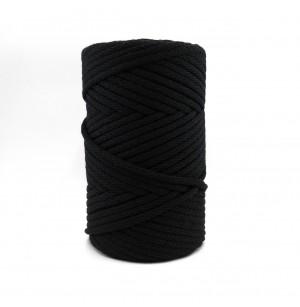 Zelenka Soft Cord fekete (6 mm)