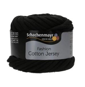 Cotton Jersey fekete 00099