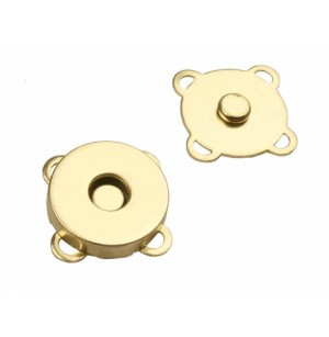 Mágneses kapocs arany (24 mm)