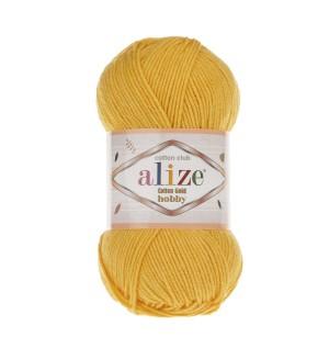 Cotton Gold Hobby 216 napsárga
