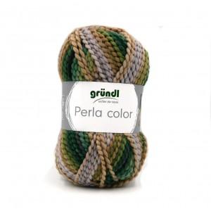 Perla Color zöld-camel-mályva 27