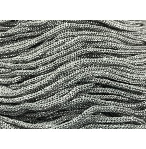 Cordino Swan Black Glitter szürke-ezüst