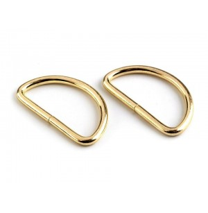 D gyűrű (32 mm) világos arany