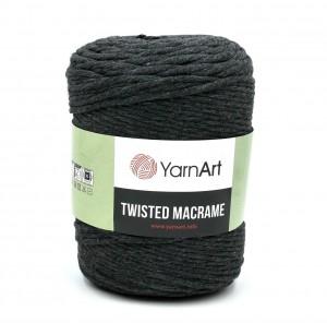 Twisted Macrame sötétszürke
