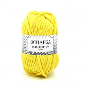 Schapsa Tube Cotton sárga