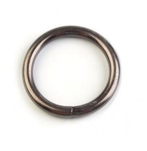 Fém karika (fekete nikkel)
