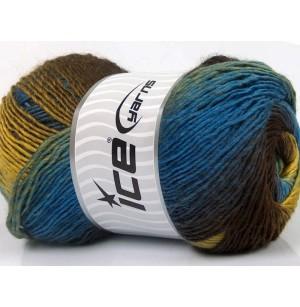 Primadonna barna-arany-kék