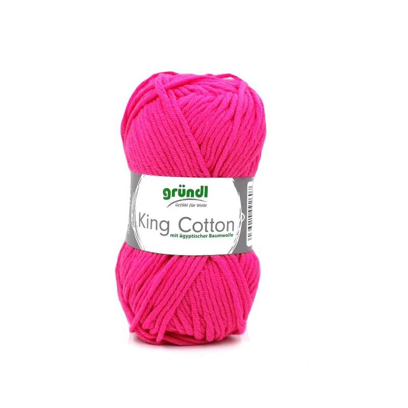 King Cotton neon rózsaszín