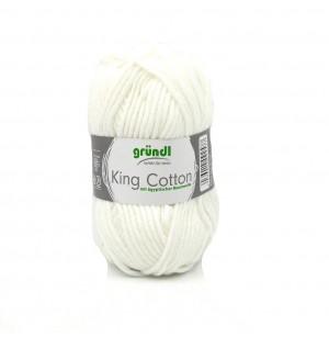 King Cotton 01 fehér