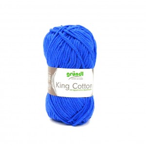 King Cotton 108 royal kék