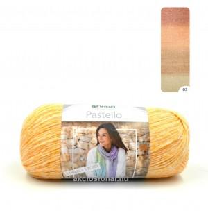 Pastello 03 sárga-narancs árnyalataiban
