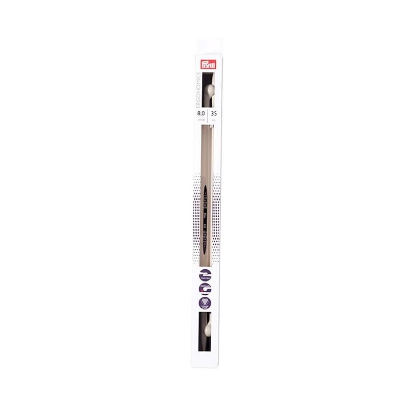 Prym ergonomikus egyenes kötőtű 8 mm