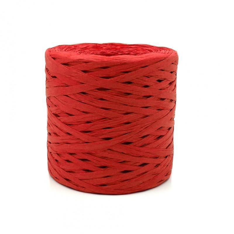 Raffia fonal piros