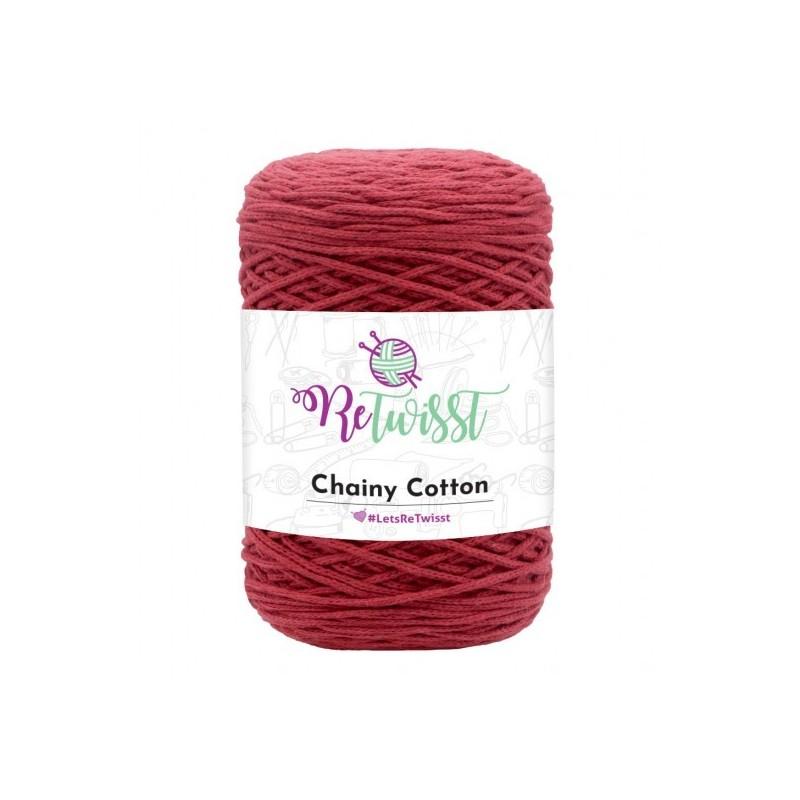 Chainy Cotton burgundi