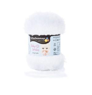 Lenja Soft fehér babafonal