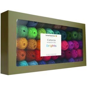 Catania amigurumi box - élénk (50 szín)