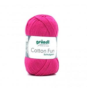 Cotton Fun fukszia 20